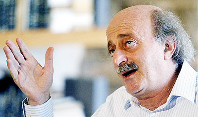 Walid Jumblatt (Photo: AFP)
