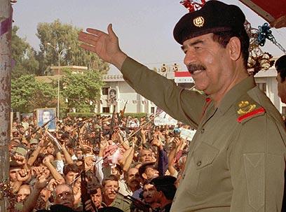 סדאם חוסיין. יהיה אקדח מעשן באיראן? (צילום: איי פי)
