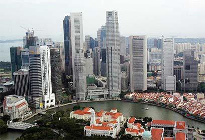 סינגפור. הובלה בתשתית עירונית ברת קיימא  (צילום: רויטרס) (צילום: רויטרס)