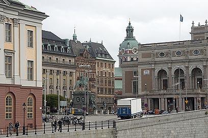 שטוקהולם. רובע בר-קיימא (צילום: רון פלד) (צילום: רון פלד)