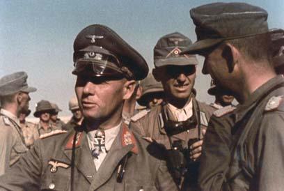 החיילים היהודים השתתפו במאמץ לעצור את רומל וגייסותיו באל-עלמיין ()