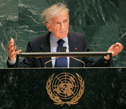 Elie Wiesel. Circumcision and ritual slaughter bans 'stem first of all from ignorance and disregard of the Jewish faith' (Photo: Reuters)