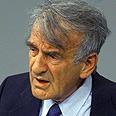 אלי ויזל במושב הפרלמנט הגרמני לציון 55 שנה לשחרור אושוויץ; 27.1.2000