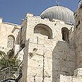 החומה הטורקית מתחת לאל-אקצא