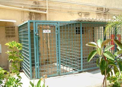 אגף 15 בכלא איילון שבו היה כלוא יגאל עמיר בהפרדה מלאה (צילום: רענן בן צור) (צילום: רענן בן צור)