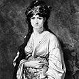 מלכת שבא על פי הצייר ז'ן ז'ול בדין