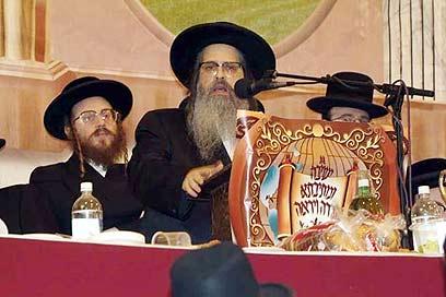 """האדמו""""ר מסאטמר, הרב יקותיאל יהודה טייטלבוים (צילום: יצחק ווייס)"""