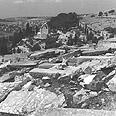 מצבות מחוללות בבית הקברות היהודי בהר הזיתים, 1967