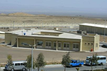 מתקן גרעיני בנתנז שבאיראן. בחלוף הזמן נוכל לתקוף כחלק מקואליציה? (צילום: AFP) (צילום: AFP)