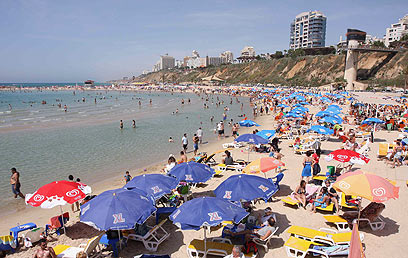 The Netanya beach. 'A surf-stoked city with impressive breaks and a large community of surfers' (Photo: Ido Erez)