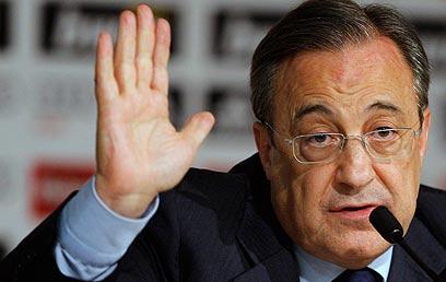 פלורנטינו פרס. דווח שהוא מוכן למכור את פפה ב-30 מיליון אירו (צילום: AP) (צילום: AP)