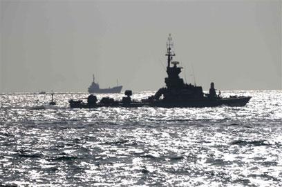 בקרוב מפגש עם ספינות טורקיות? ספינת חיל הים (צילום: אבי רוקח) (צילום: אבי רוקח)