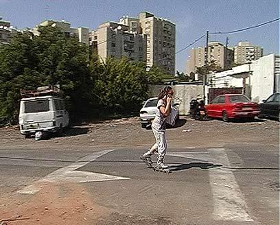 שכונת כפר שלם בדרום תל-אביב. פתרון בשיתוף התושבים (צילום: יהונתן צור) (צילום: יהונתן צור)