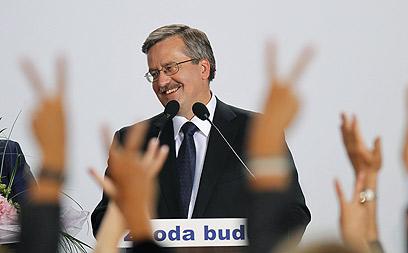 קומורובסקי. לפחות נשיא פולין תומך באוקראינים (צילום: רויטרס) (צילום: רויטרס)