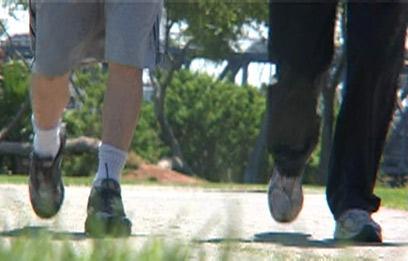 """מומלץ להחליף נעליים לאחר כ-800 ק""""מ לכל היותר (צילום: רותם פלדנר) (צילום: רותם פלדנר)"""