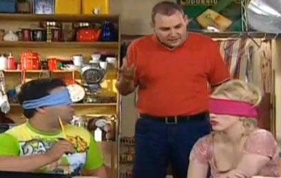 """צביקה הדר, אורלי ויינרמן וזבולון מושיאשווילי ב""""שמש""""  (ערוץ 2) (ערוץ 2)"""