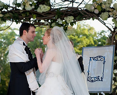 Chelsea and Marc are not alone. In the past year more than half of US Jews married non-Jewish spouses (Photo: AP)