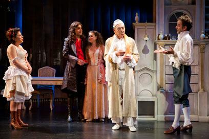 """מתוך """"החולצה המדומה"""", תיאטרון באר שבע    (צילום: כפיר בולוטין) (צילום: כפיר בולוטין)"""