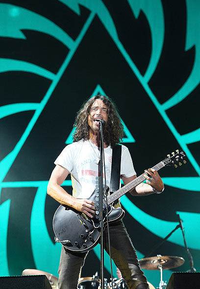 Soundgarden front man Chris Cornell (Photo: AFP)