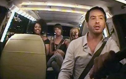 """הנערות האתיופיות ב""""מונית הכסף"""". עד היום לא ברור מה נעשה בנידון (צילום: ערוץ 2) (צילום: ערוץ 2)"""
