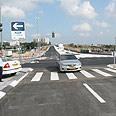 קטע הכביש הנוסף שנפתח במחלף חולון. יעודד יזמים להגיע באדיבות דוברות עיריית חולון