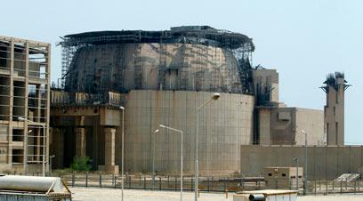 The Bushehr nuclear facility in Iran
