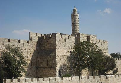 מגדל דוד (צילום: זיו ריינשטיין) (צילום: זיו ריינשטיין)