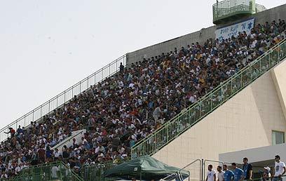 """האצטדיון בנס ציונה. העירייה חסכה מוורשביאק עדות בביהמ""""ש (צילום: אורן אהרוני) (צילום: אורן אהרוני)"""