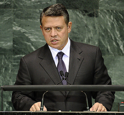 Jordan's King Abdullah. Precarious state (Archive photo: AFP)