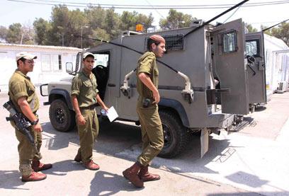 הדרישה באה מהחיילים. הגדוד החרדי 2010 (צילום: עידו ארז) (צילום: עידו ארז)