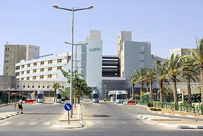 33 מיטות במיון, 78 חולים. בית החולים סורוקה (צילום: הרצל יוסף) (צילום: הרצל יוסף)