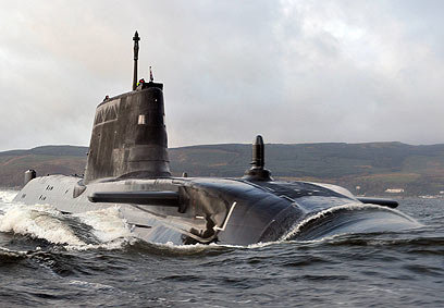 Nuclear submarine (Illustration: AP) (Photo: AP)