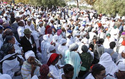חג הסיגד. הוכר גם כחג לאומי (צילום: אוהד צוינגברג)