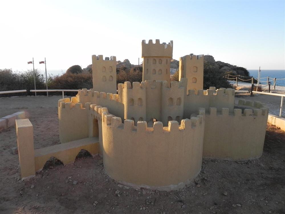 דגם המבצר (צילום: זיו ריינשטיין)