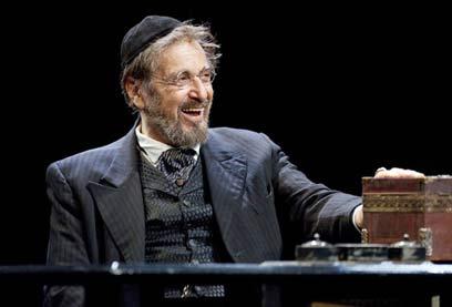 אל פאצ'ינו מגלם את שיילוק גם בברודוויי (צילום: ג'ואן מרקוס) (צילום: ג'ואן מרקוס)