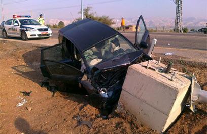 המשטרה ושר התחבורה: רק הנהת אשמה בתוצאות התאונה (צילום: חגי אהרון) (צילום: חגי אהרון)