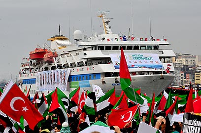 Marmara returns to Turkey (Photo: AFP)