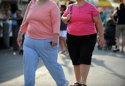 השמנת יתר. לא רק סיכון בריאותי, גם סיכון בהרדמה ובניתוח (צילום: AFP) (צילום: AFP)