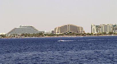הטיסות יקרות המלונות לא זולים. מלון באילת (צילום: יואב גלזנר) (צילום: יואב גלזנר)