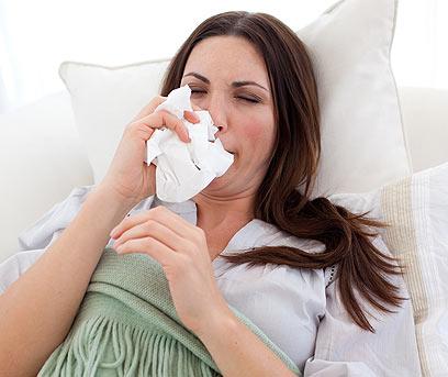 הצטננות. דלקת קלה של האף והגרון (צילום: Index open) (צילום: Index open)