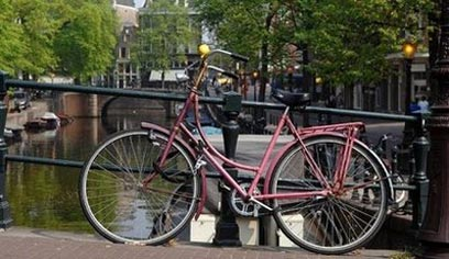אמסטרדם. בקרוב האופניים יישארו האטרקציה היחידה? (צילום: AFP) (צילום: AFP)