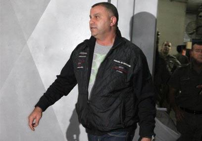 ריקו שירזי בבית המשפט (צילום: אבי מועלם) (צילום: אבי מועלם)