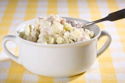 רק חלבונים, בתוספת ביצה או שתיים. סלט ביצים לדיאטה (צילום: shutterstock)