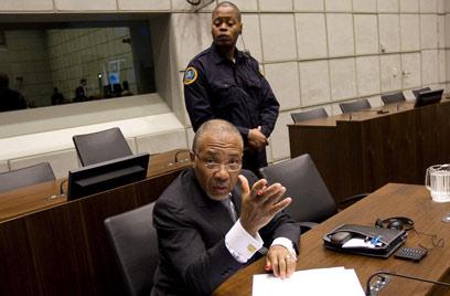 טיילור בבית המשפט (צילום: AFP) (צילום: AFP)