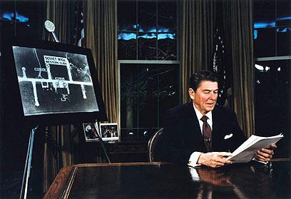 הנשיא שהושבע בגיל הכי מבוגר. רייגן ()