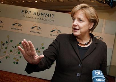 קנצלרית גרמניה מרקל. אחת המנהיגות שברשימה (צילום: AP) (צילום: AP)