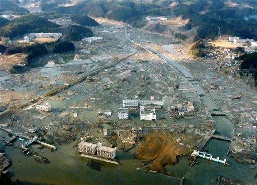 אסון הטבע ביפן חולל מפנה במדיניות האנרגיה במדינה - מכורי אטום למימן (צילום: AP) (צילום: AP)