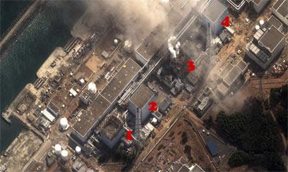 ארבעת הכורים (צילום: DIGITAL GLOBE, REUTERS) (צילום: DIGITAL GLOBE, REUTERS)