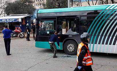זירת הפיגוע במרס. היה אמור להיות רק ההתחלה (צילום: רויטרס) (צילום: רויטרס)