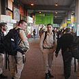 """תחנות האוטוובסים העמוסות של ב""""ש צילום: הרצל יוסף"""